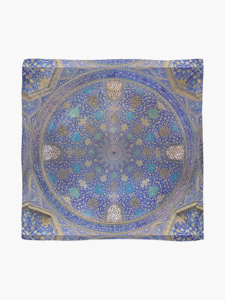 Alternate view of Shah Mosque, Isfahan, Iran Scarf