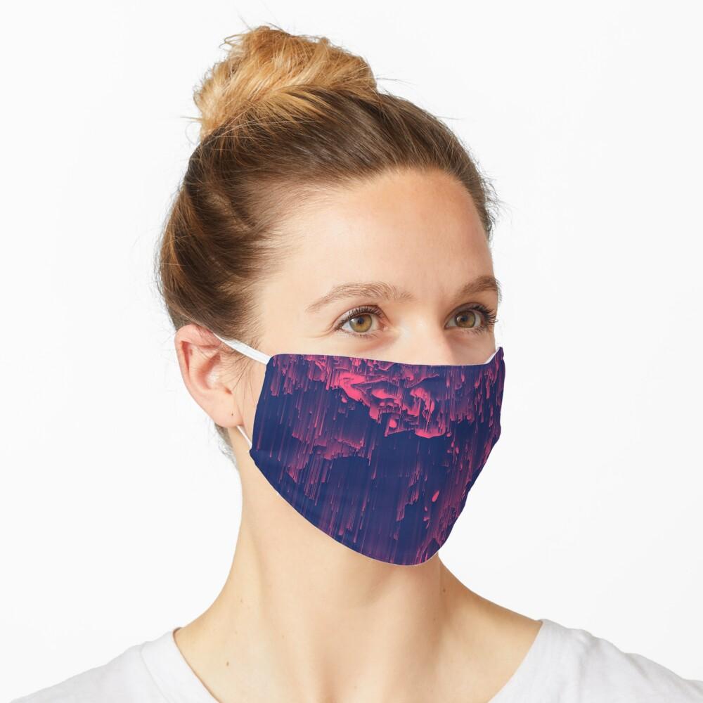 Glitchin' - Abstract Pixel Art Mask
