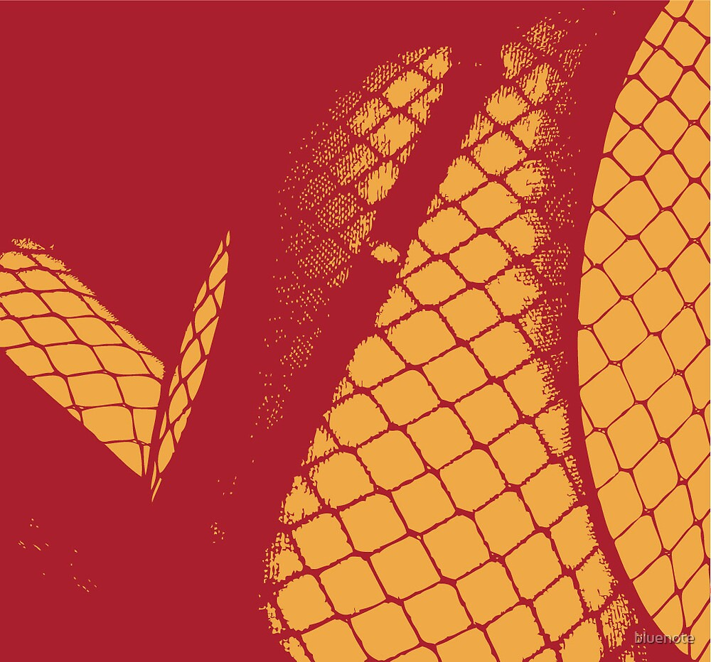 layered net abstract by bluenote