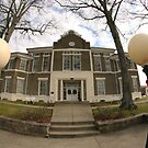 Morgan County Courthouse, wide angle by Kent Nickell