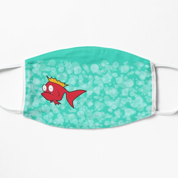 Concerned Fish Mask Flat Mask