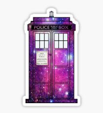 Starry Police Public Call Box. Sticker Part 69