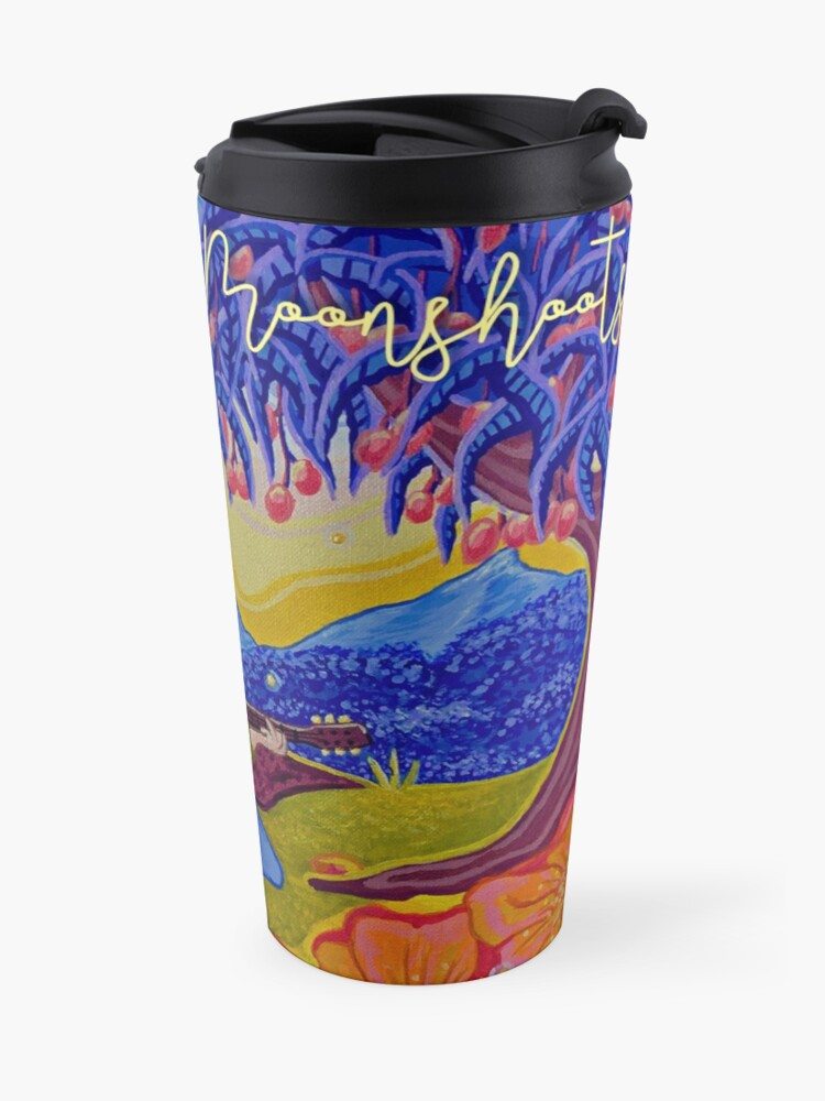 "Alternate view of The Moonshoots EP ""Golden Hour"" Album Cover Travel Mug"