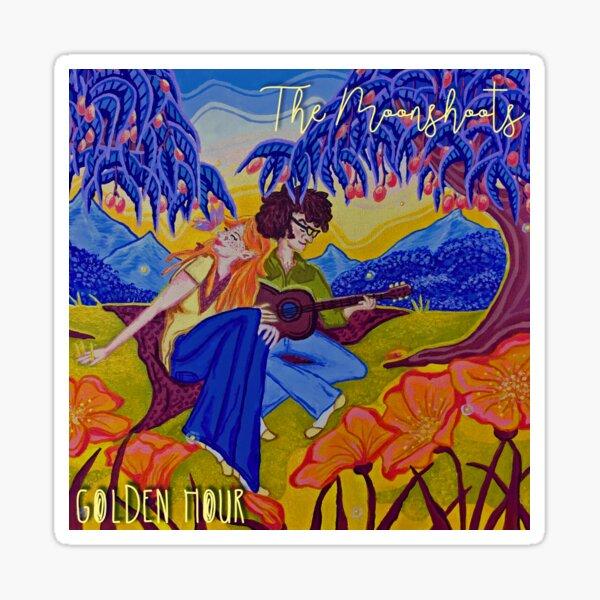 "The Moonshoots EP ""Golden Hour"" Album Cover Sticker"