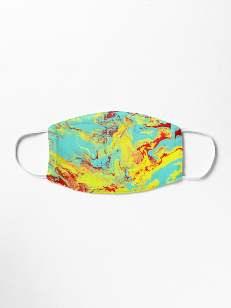 Alternate view of Splashing Down - An Abstract Piece Mask