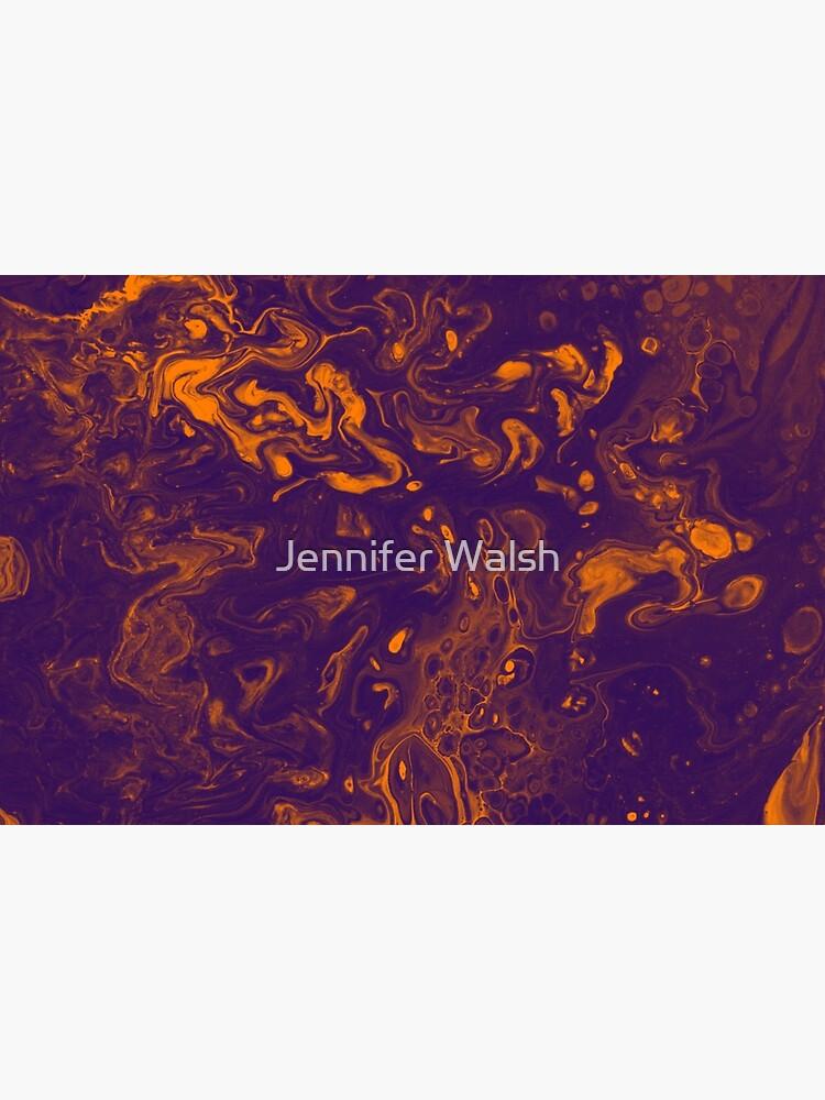 Golden Smoke - An Abstract Piece by InsertTitleHere