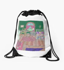 Number 42 Drawstring Bag