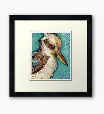 Kookaburra Framed Print
