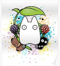 Chibi Totoro Poster