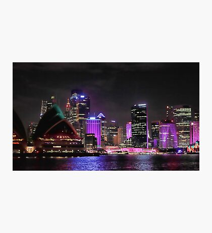 Vivid Sydney - from Opera to Art Photographic Print