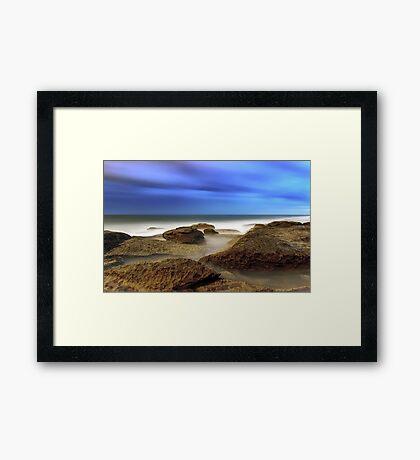 An Ocean Cocktail Framed Print