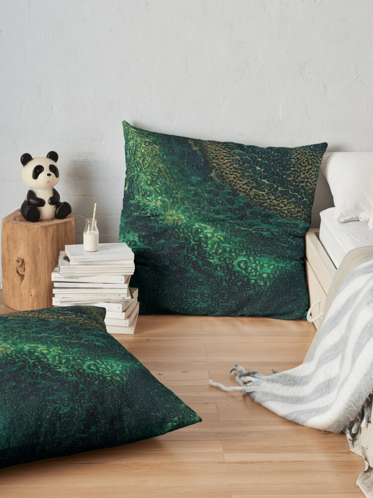 Alternate view of Detail - Depths Unknown Floor Pillow