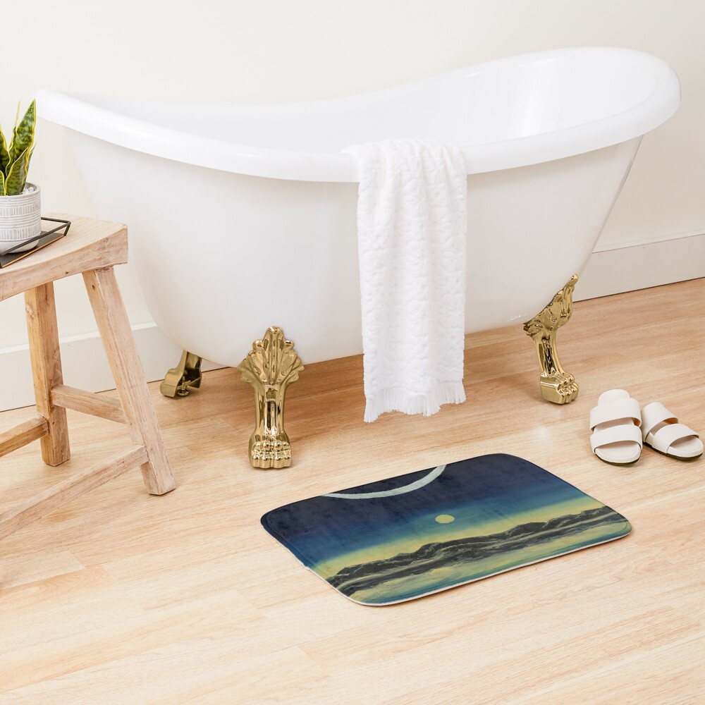 Supernatural Eclipse Bath Mat