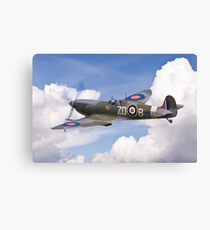 Spitfire Pass Canvas Print
