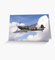 Spitfire Pass Greeting Card