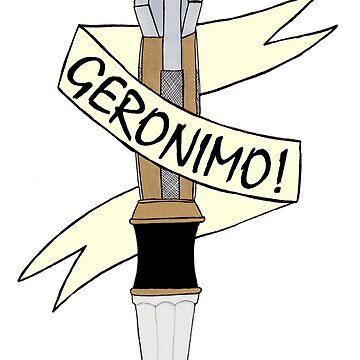 Sonic--Geronimo. by trumanpalmehn