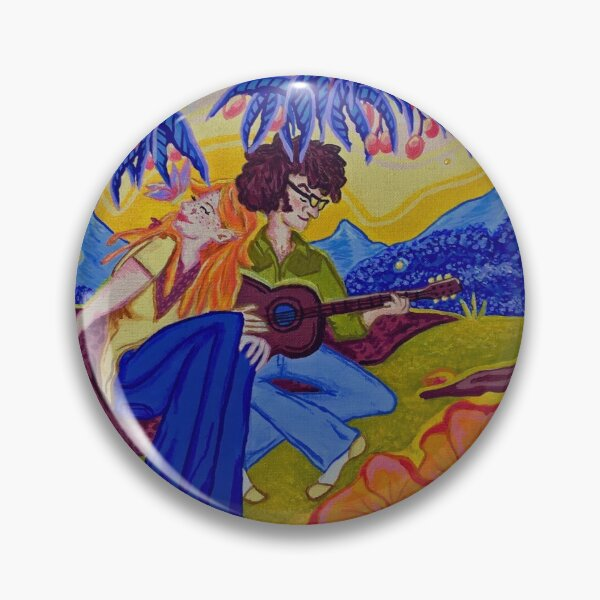 "The Moonshoots EP ""Golden Hour"" Album Cover Pin"