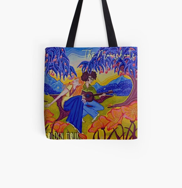 """The Moonshoots EP """"Golden Hour"""" Album Cover All Over Print Tote Bag"""