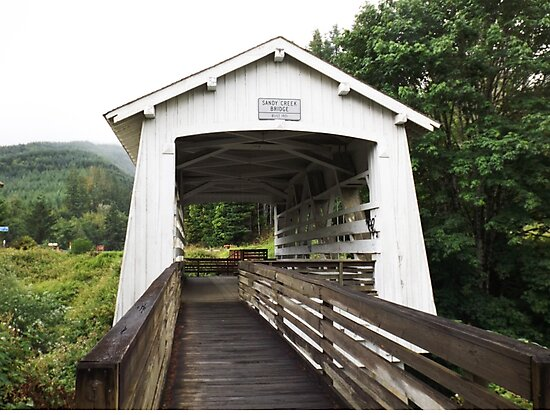 Covered Bridge by Greg Lester