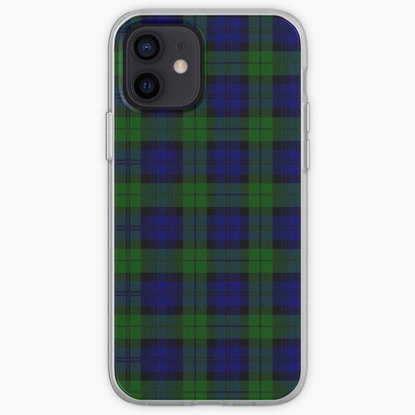 Black Watch Plaid - Scottish Heritage Tartan iPhone Soft Case