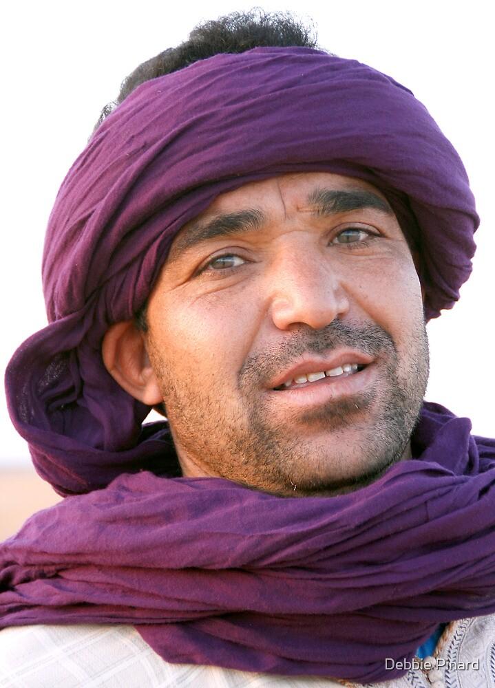 Berber Man, Morocco by Debbie Pinard