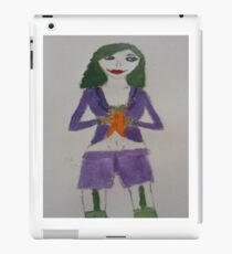 Female Joker iPad Case/Skin