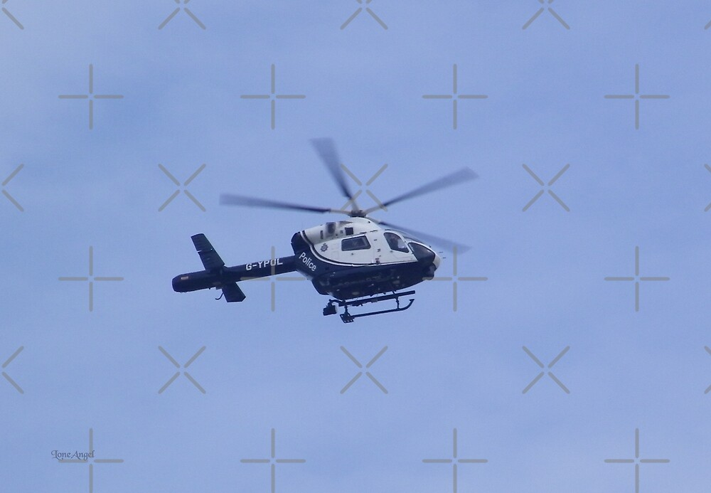 Police Helicopter by LoneAngel