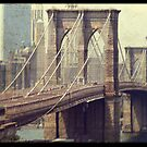 Old Manhattan by Magaly Burton