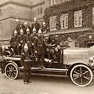 Trowbridge Fire Brigade 1922 by Trowbridge  Museum