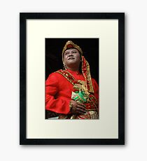 groom Framed Print