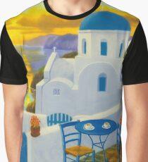 Santorini Graphic T-Shirt