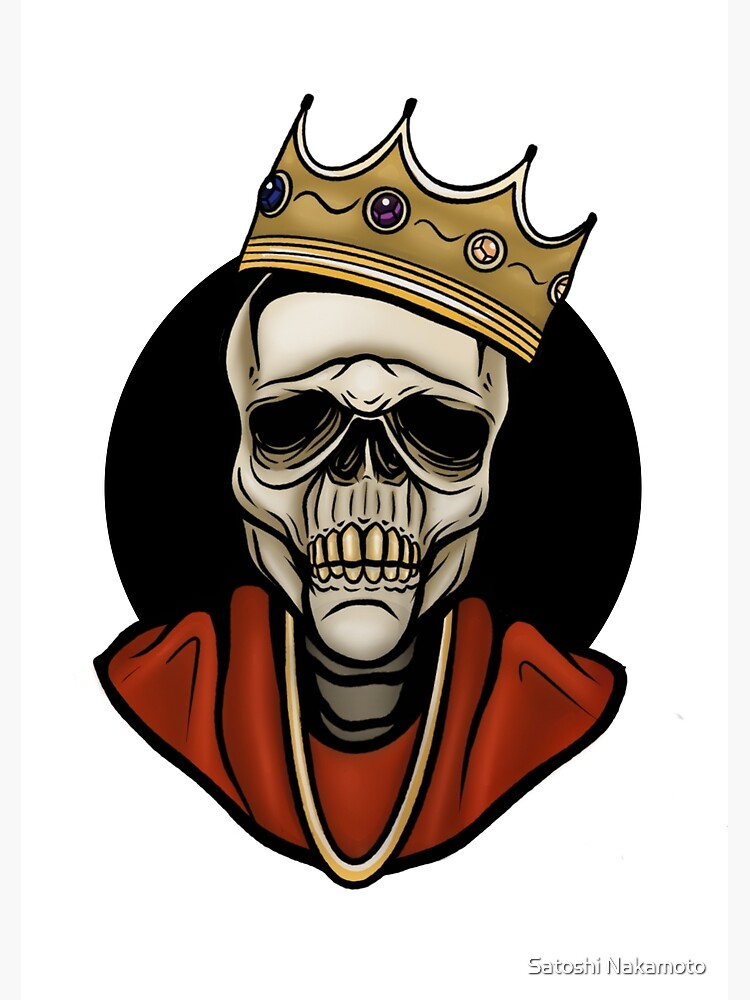 Biggie Smalls Crown Art Prints Redbubble Check out inspiring examples of biggie_smalls artwork on deviantart, and get inspired by our community of talented artists. redbubble