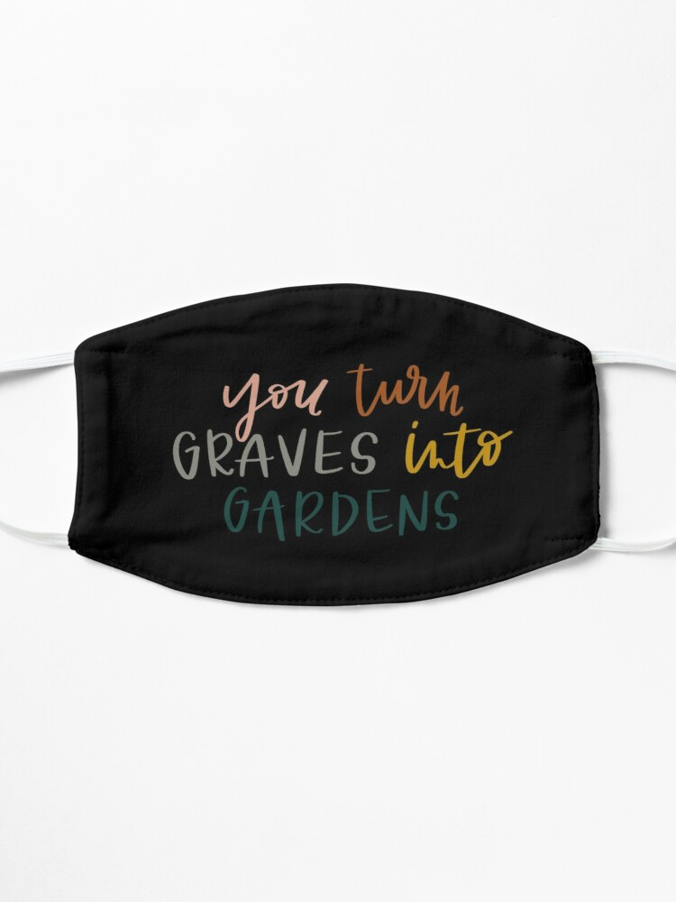 Alternate view of Graves Into Gardens Mask
