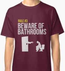 Zombie Survival Guide - Rule #3 - Beware of Bathrooms Classic T-Shirt
