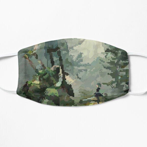 Nier: Automata Forest pixel Flat Mask