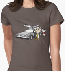 Doc Brown Womens Fitted T-Shirt