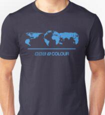 Retro BBC 1 Colour globe graphics Unisex T-Shirt