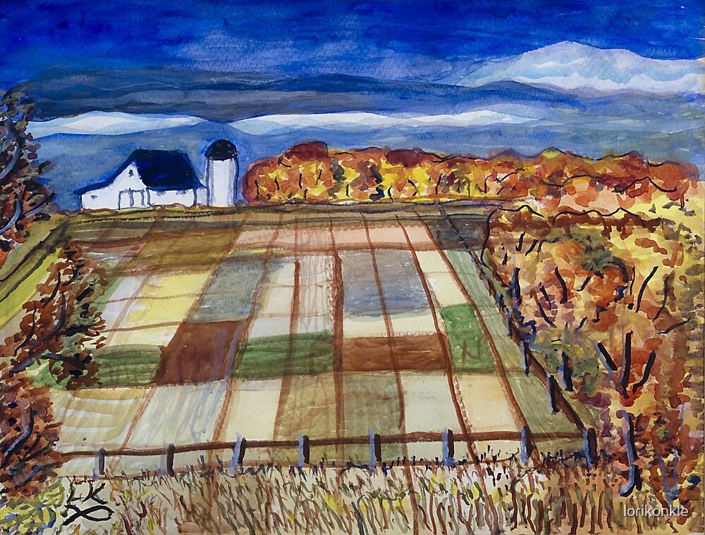 Kansas Farm by lorikonkle