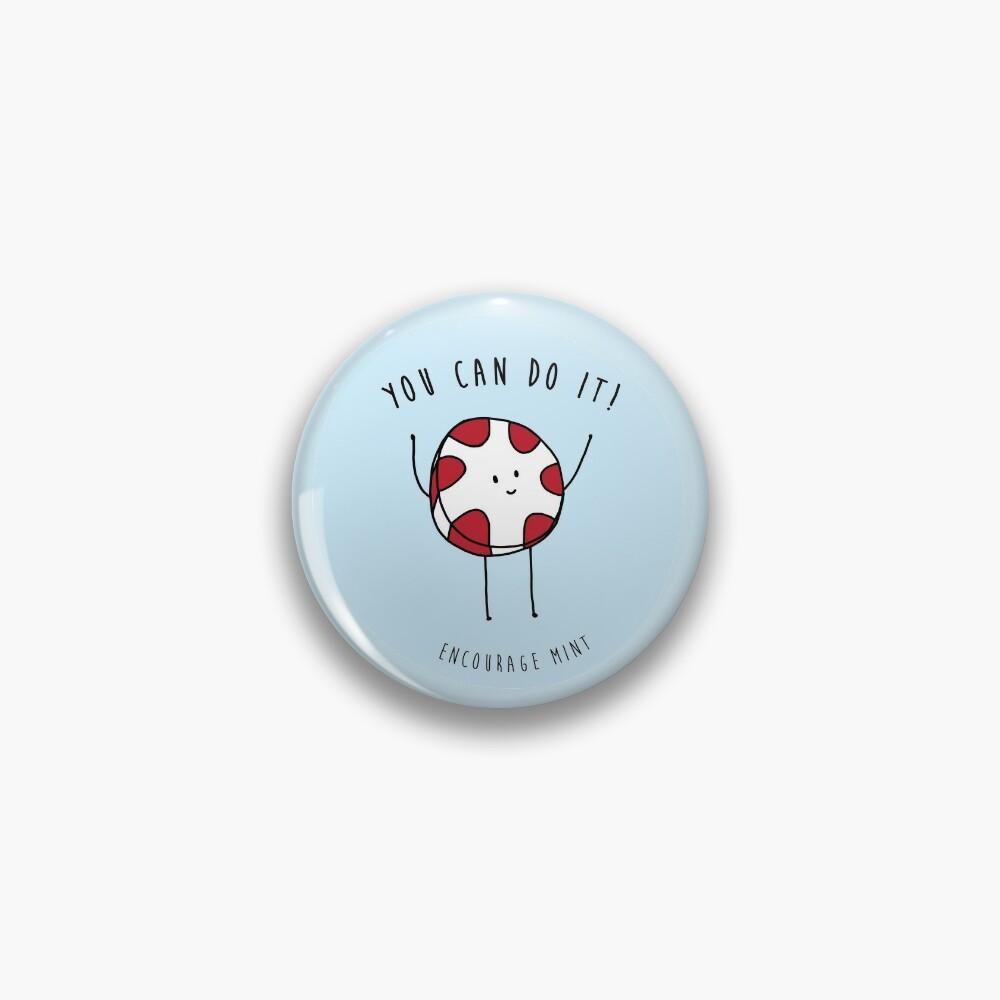 encourage mint Pin