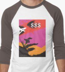 POP FACE Men's Baseball ¾ T-Shirt