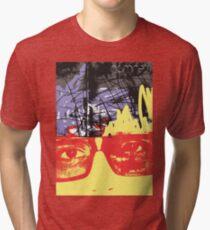 POP FACE 2 Tri-blend T-Shirt