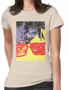 POP FACE 2 Womens Fitted T-Shirt
