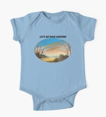 Let's Go Duck Hunting One Piece - Short Sleeve