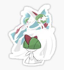 Ralts' evolution Sticker