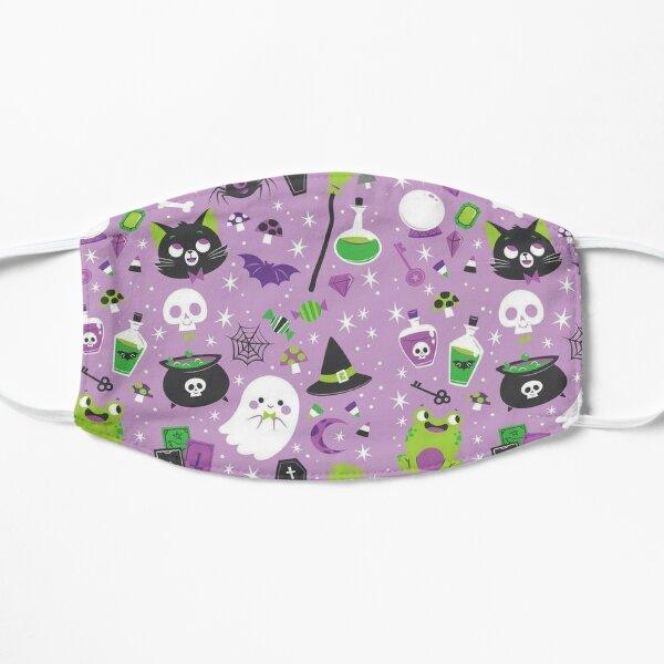 Cute Halloween pattern  Flat Mask