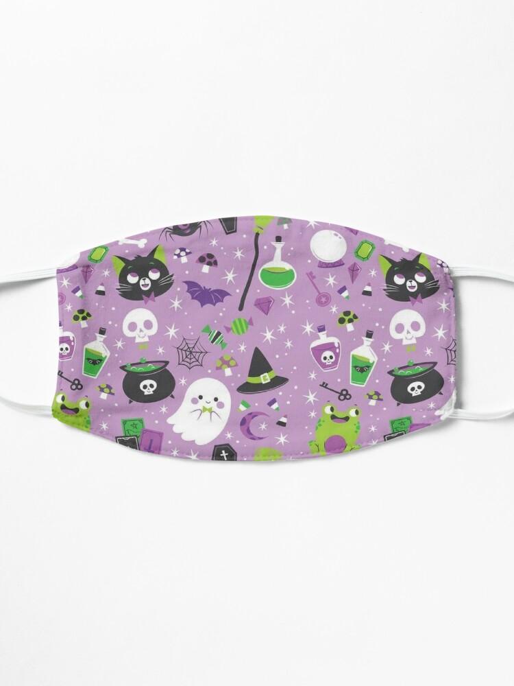 Alternate view of Cute Halloween pattern  Mask
