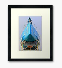 Volvo Ocean Race. Lisbon Framed Print