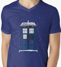 Festive Police Public Call Box. T-Shirt