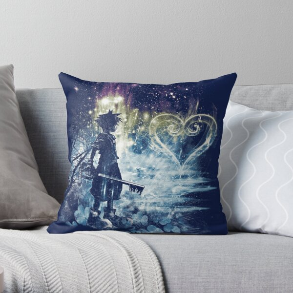 a path to the heart Throw Pillow