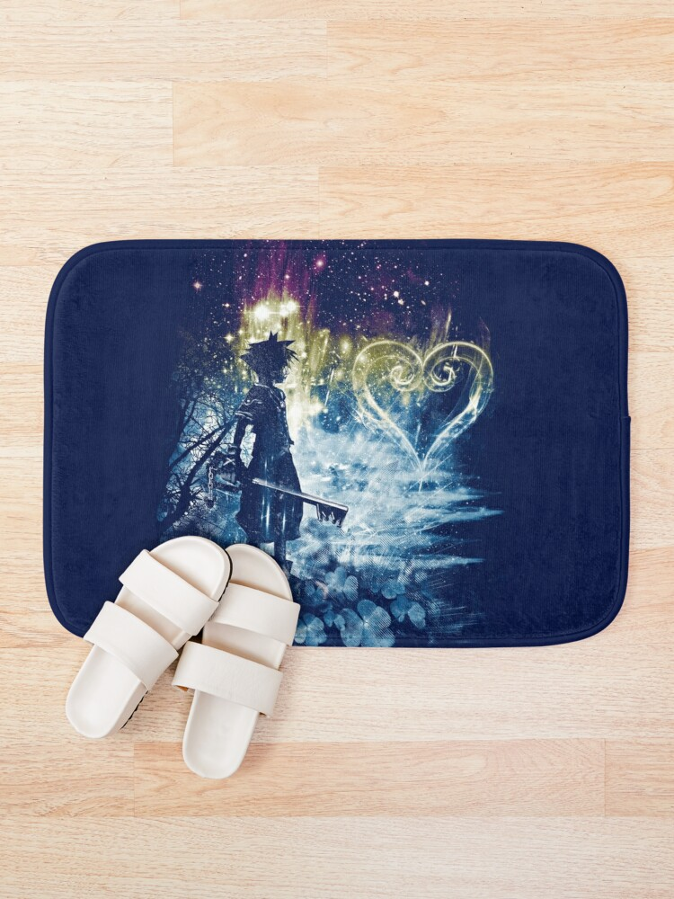 Alternate view of a path to the heart Bath Mat